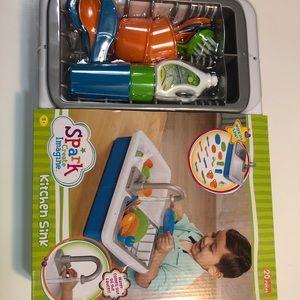 Spark Create Imagine Toys Spark Kitchen Sink Create Imagine Kids Play Toy Poshmark